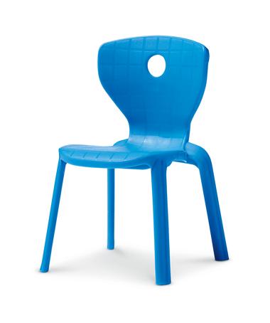 Blue Plastic Chair1
