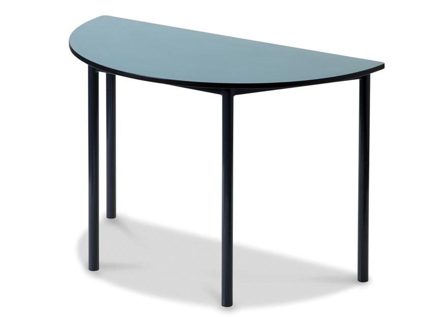 eureka half round table