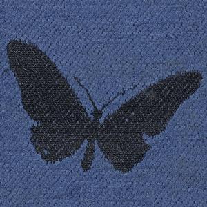 Butterflies - Blue Finish