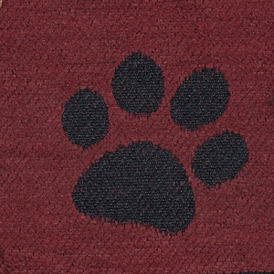 Paws - Red Finish